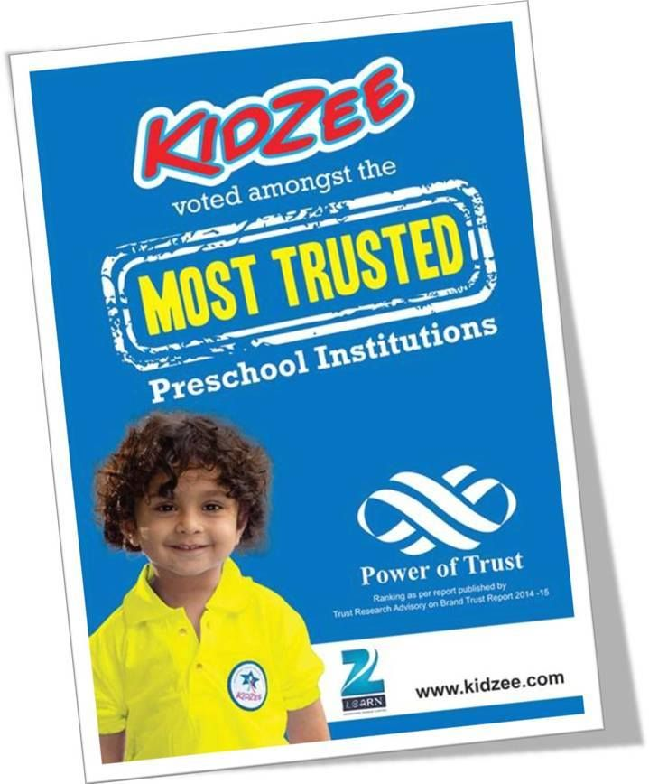 KIDZEE voted amongst the \'MOST TRUSTED\' Preschool Institutions ...