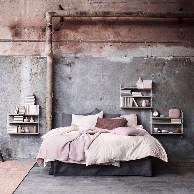 Prachtige slaapkamer met industriele touch. - Homeishome ...