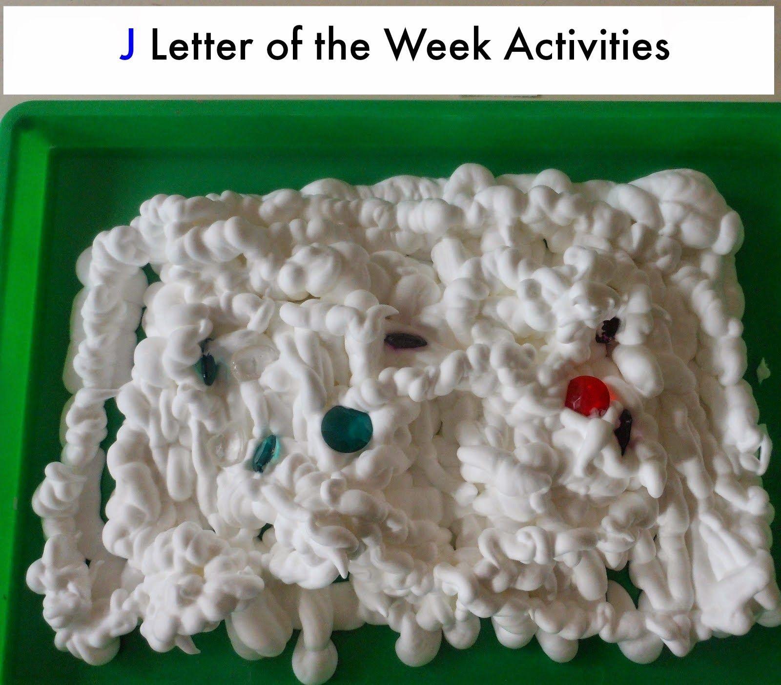 Preschool Letter J Activities