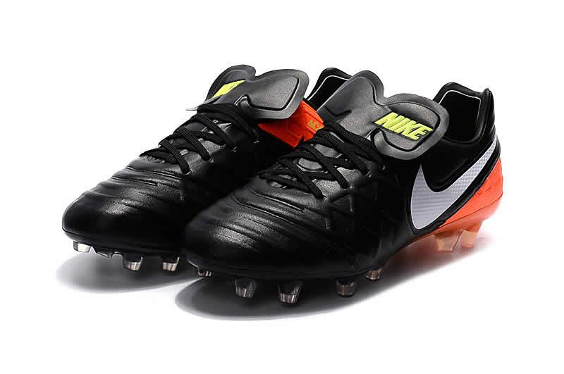 Nike Tiempo Legend VI FG 2017 Soccer Boot Black White Green  1a5b1d0f88b80