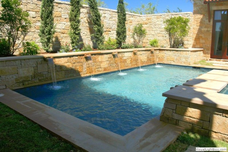 Residential Pool Designs With Images Residential Pool Courtyard Pool Pool