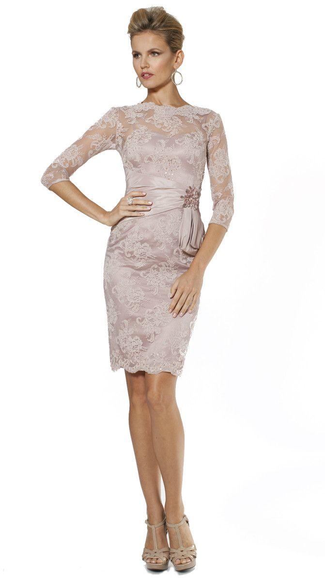 Pink cocktail dress for wedding  Short Pink Dresses for the Mother of the Bride  Pink dresses Tea