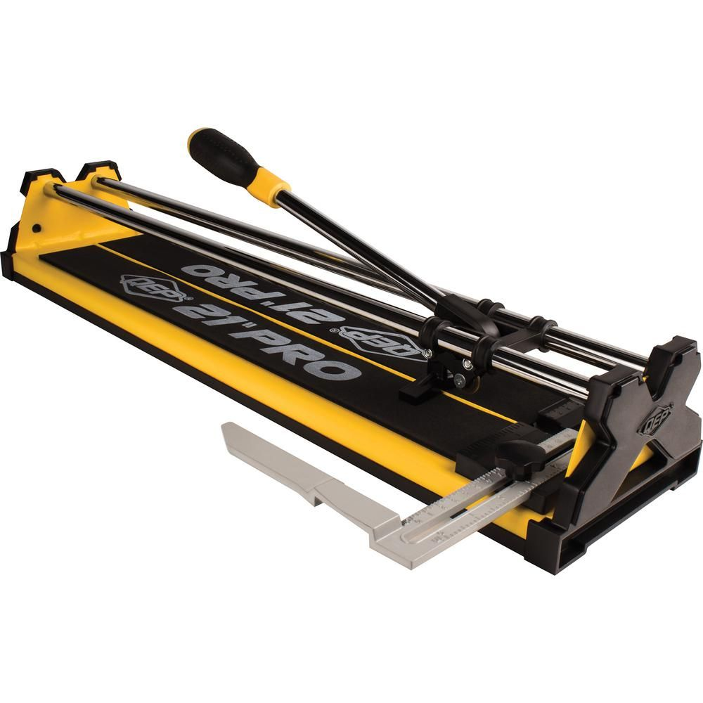 Qep 21 In Pro Tile Cutter 10521q The Home Depot Tile Cutter Tile Tools Daltile