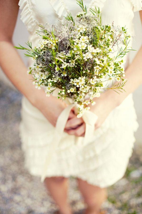 yessss wax flower bouquet | My Wedding | Pinterest | Wax flowers ...
