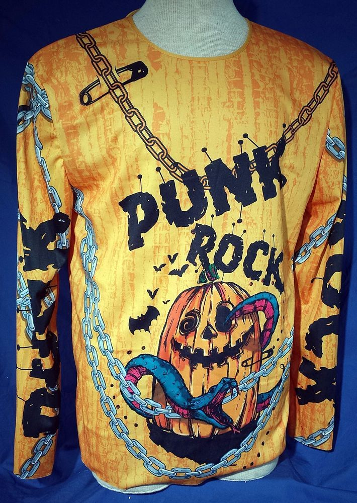 Pumpkin Punk Rock Rocker Halloween Costume by Simon Doonan