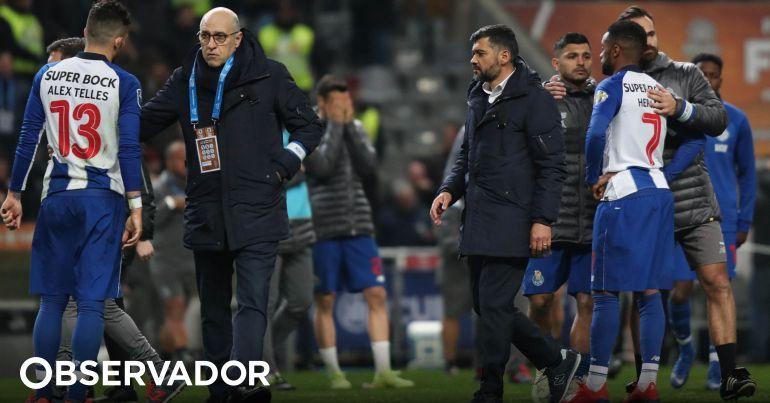 f4c027dfee Sérgio Conceição não teve dúvidas sobre a superioridade do FC Porto na  final e comentou outros