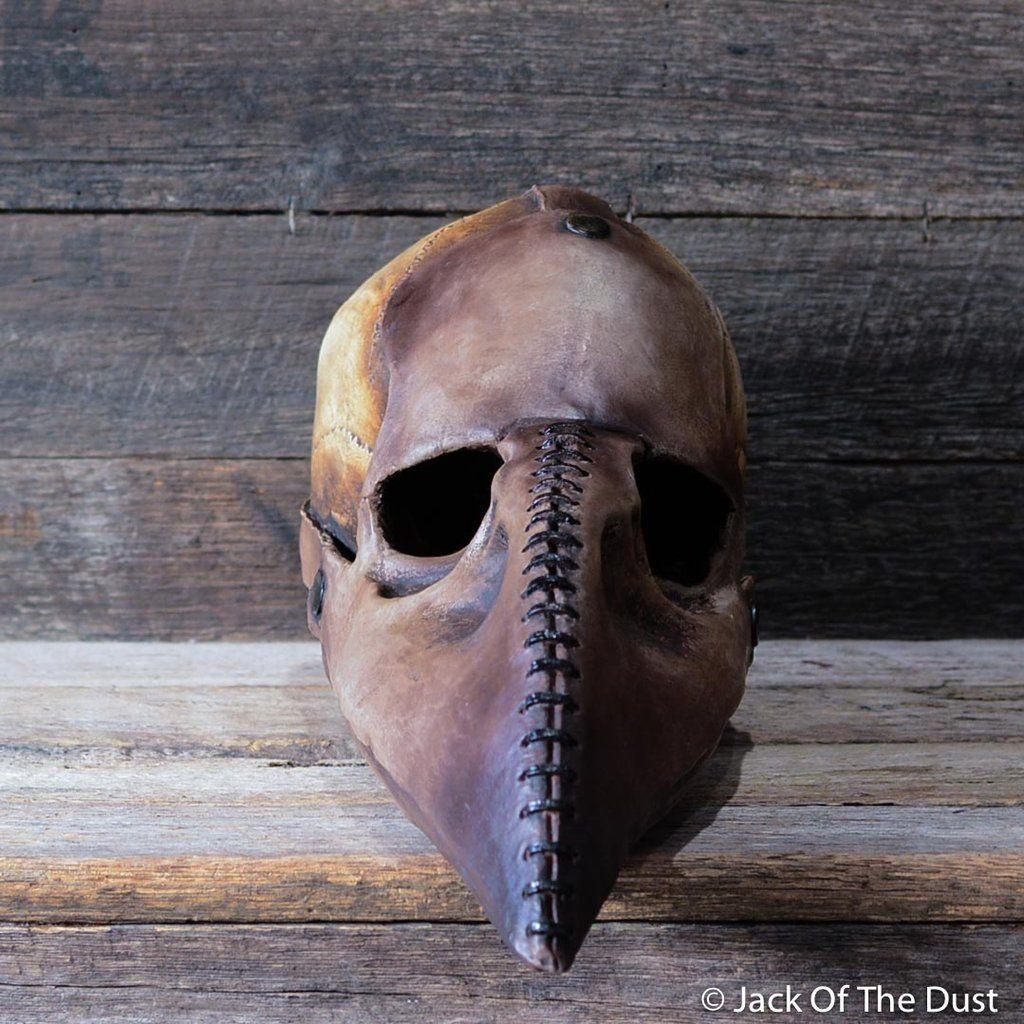 Plague Doctor Skull in 2020 | Real human skull, Real skull ...