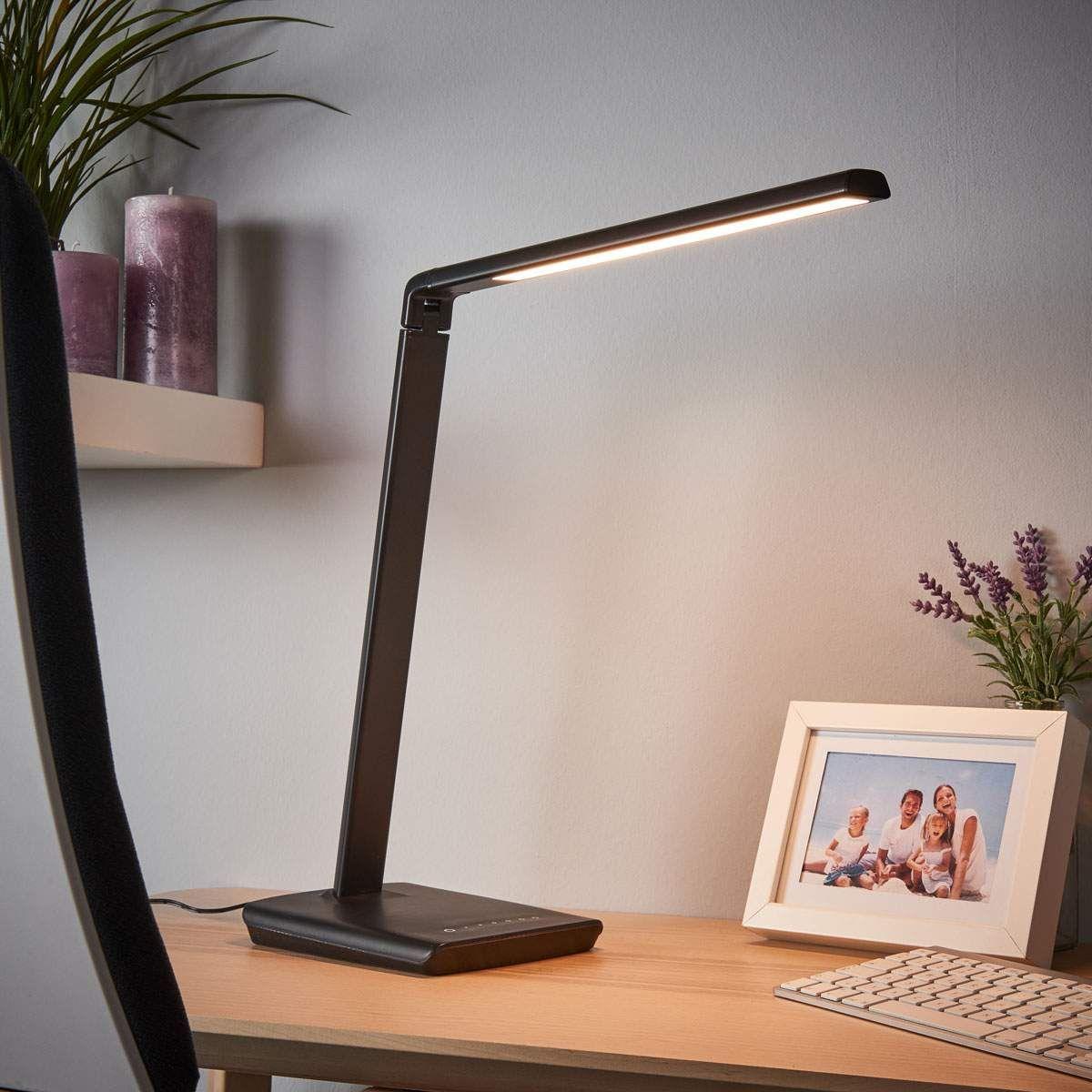 Moderne Schreibtischleuchte Von Lindby Schwarz Schreibtischlampe Led Led Tischlampe Und Led Schreibtischleuchte