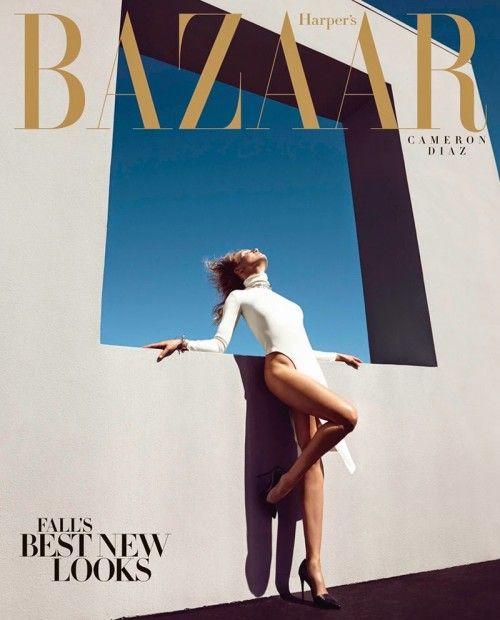 Cameron Michelle Diaz Harper`s Bazaar (4)