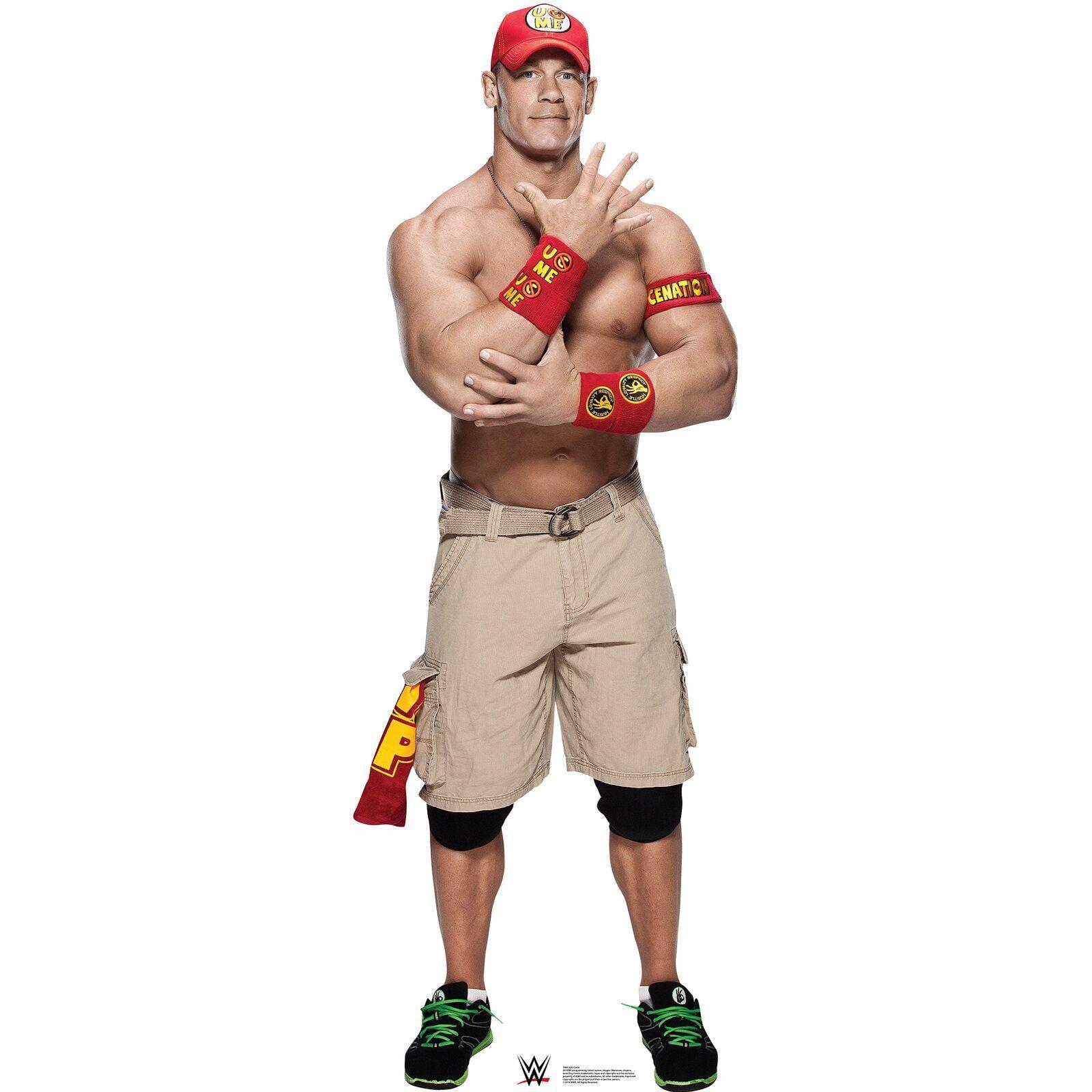 WWE Advanced Graphics John Cena Life Size Cardboard Cutout Standup