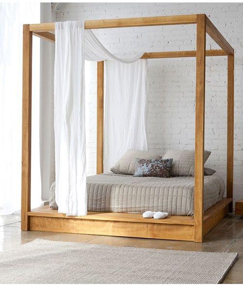 Hemelbed maar toch niet tuttig | Bedrooms | Pinterest | Schlafzimmer ...