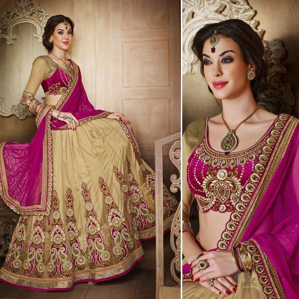 lehenga choli wedding designer indian bollywood bridal new latest  women sari  #Handmade #lehenga