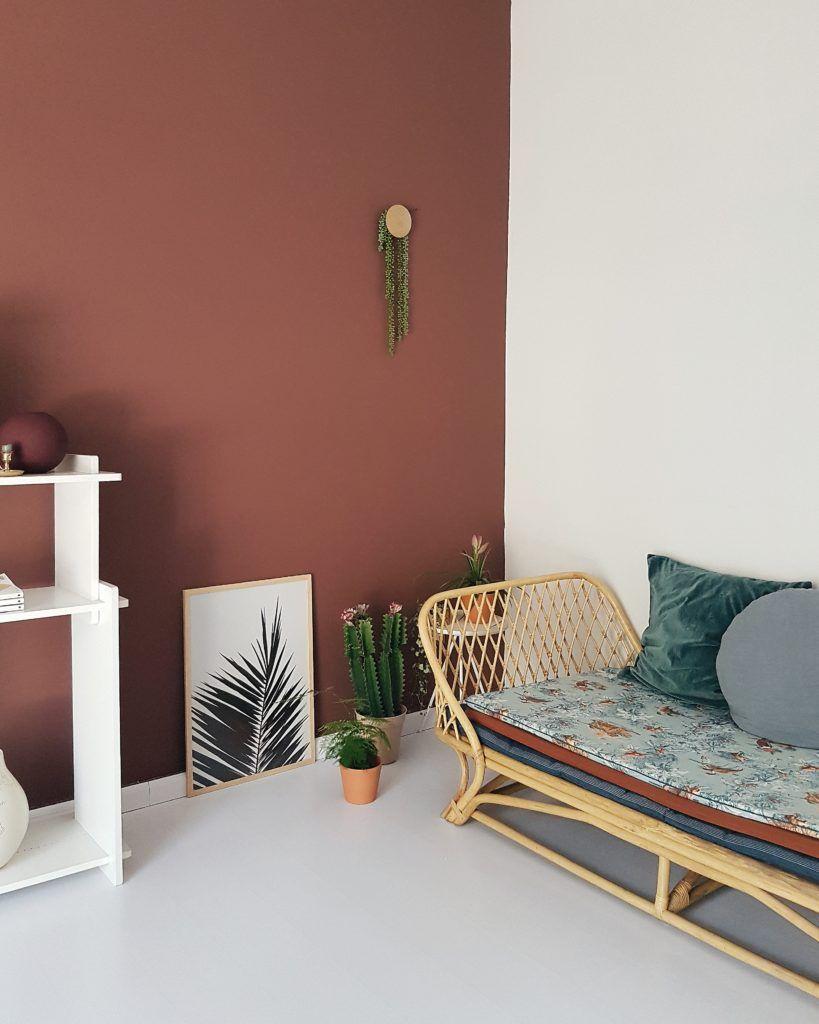 Shake it like a snow globe wohnen living braune wand for Braune wandfarbe wohnzimmer