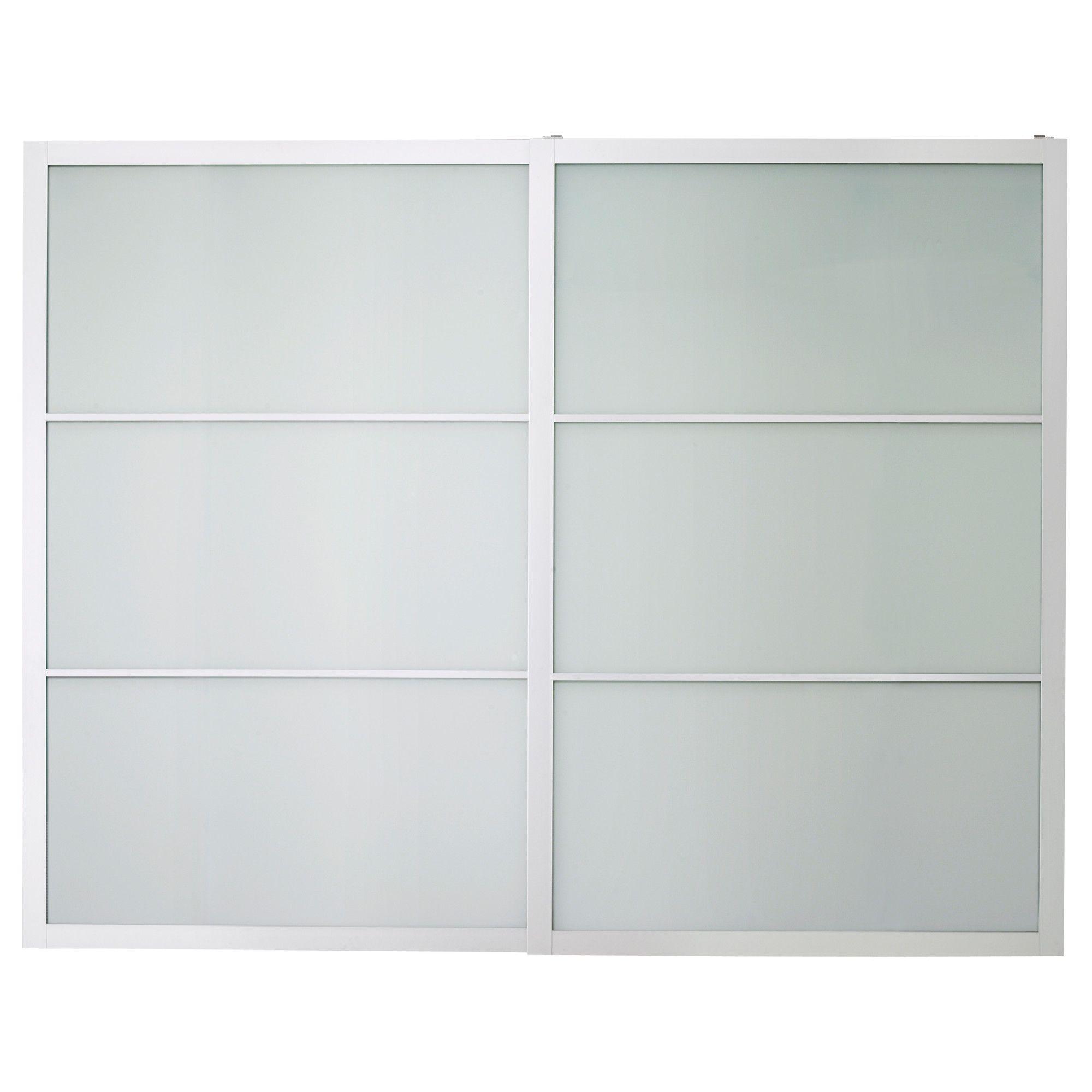 Pax Lyngdal Pair Of Sliding Doors Ikea Sliding Closet Doors