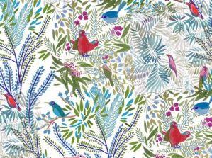 papier peint oiseaux
