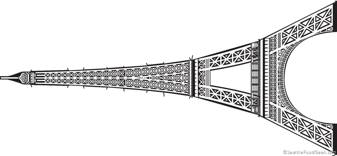 photograph about Eiffel Tower Template Printable titled Eiffel Tower template picture Meals/decorations within just 2019