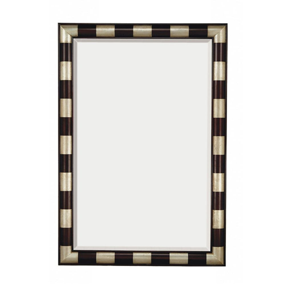 framed modern mirror. Majestic Modern Rectangular Wood Framed Beveled Glass Wall Mirror