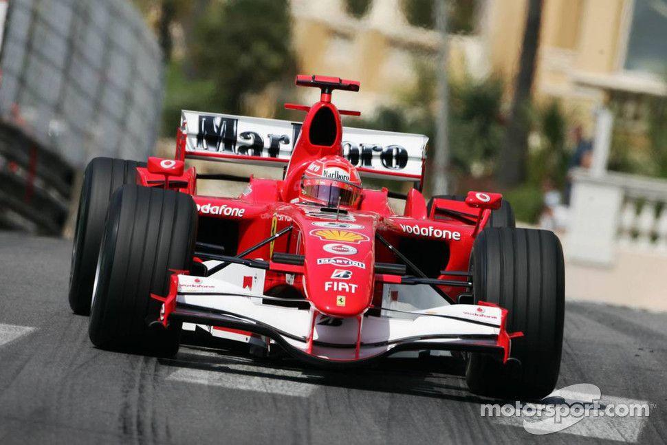 Michael Schumacher Monaco 2006