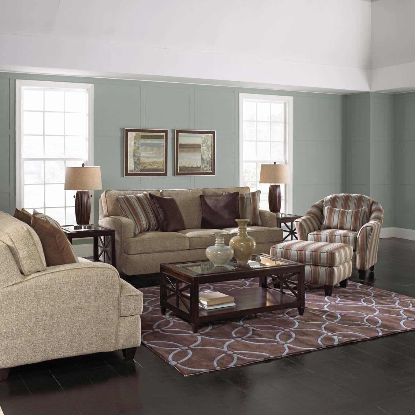 Best Rose Hill Furniture Roxbury Burlap Complete Living Room 400 x 300