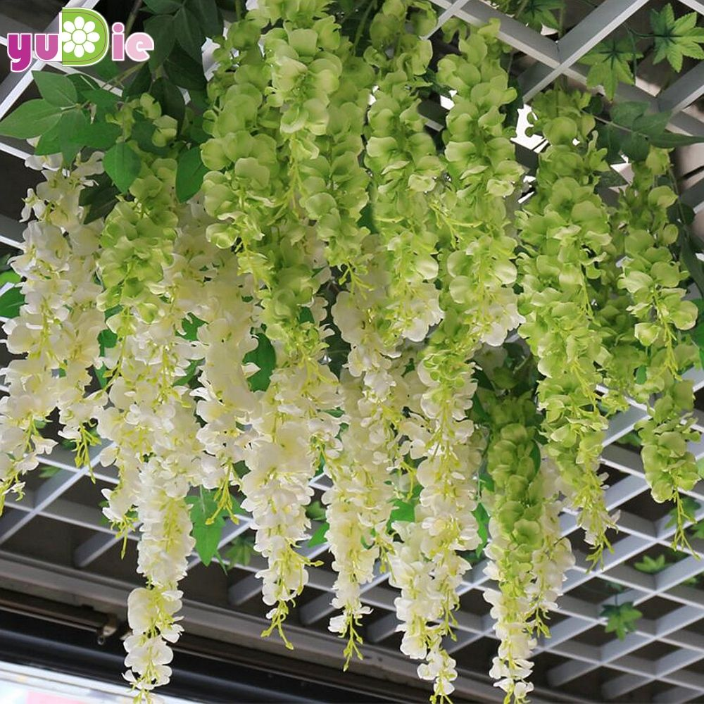 1pcs 30cm Home Fashion Artificial Hydrangea Party Romantic Wedding  Decorative Silk Garlands Of Artificial Flowers Silk