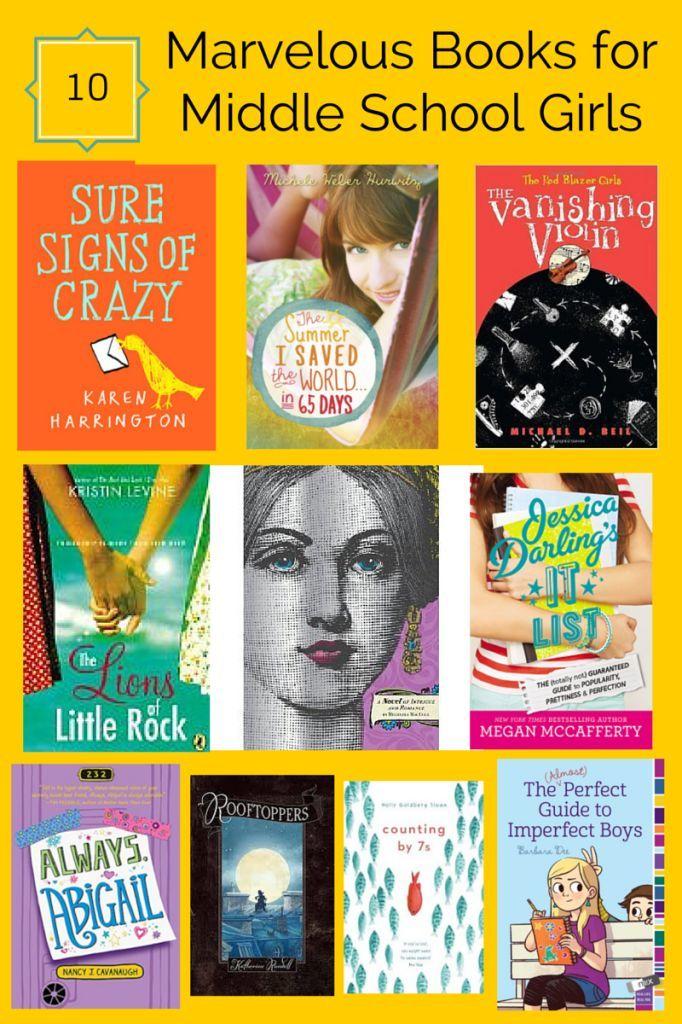 10 Marvelous Books For Middle School Girls -2963
