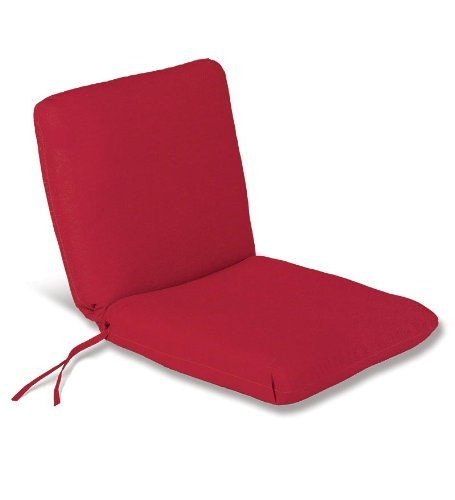 Weatherresistant Outdoor Classic Chair Cushion With Ties Seat 19 X