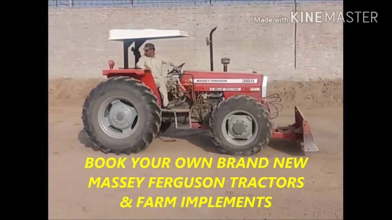 MASSEY FERGUSON MF 385 4WD WITH FRONT BLADE