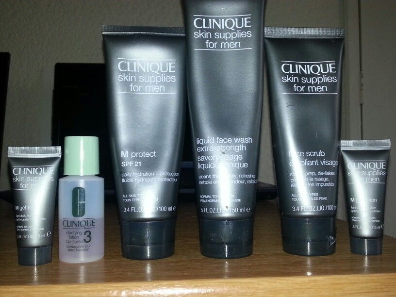My clinique collection. All this for one face