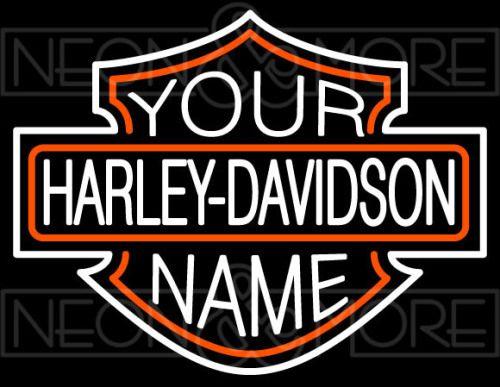 Harley Davidson Neon Signs Custom Harley Davidson Signs Garage