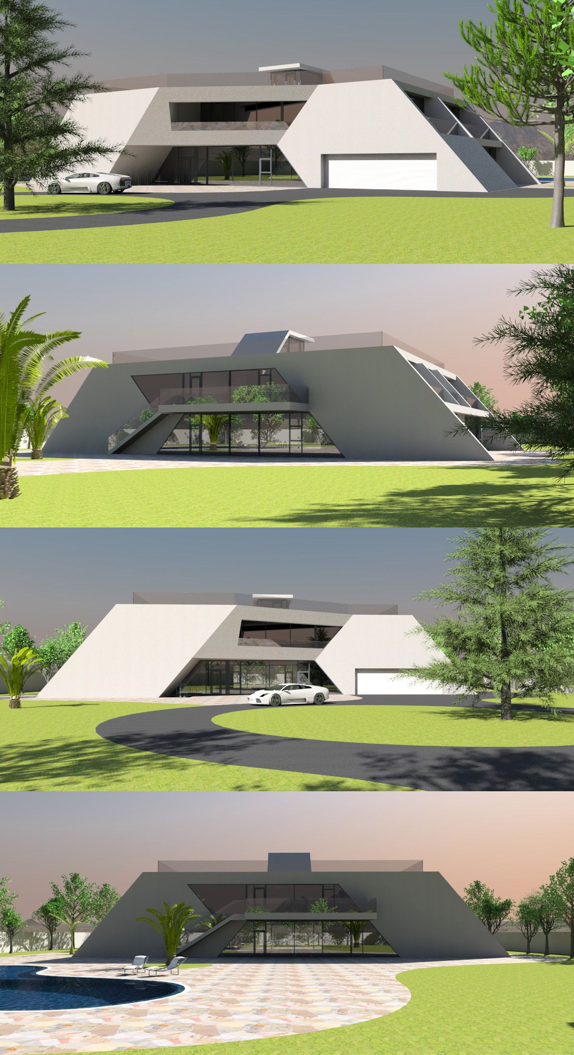 Best Medium Size Home 01 A Powerful Angular Design Gives This 400 x 300