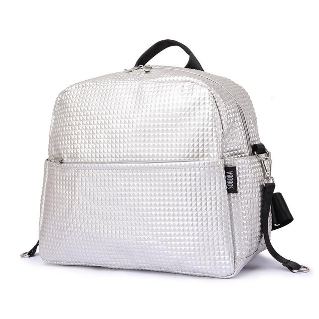 Large, Navy SUNVENO Nappy Changing Bag Changing Sets Bag Waterproof wrap Shoulder Bag Bag for on The Way Diaper Bag