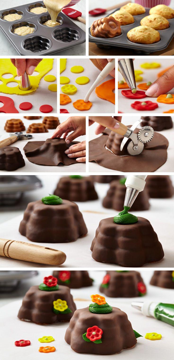 Cake boss groovy girl cakelette pan bake to impress