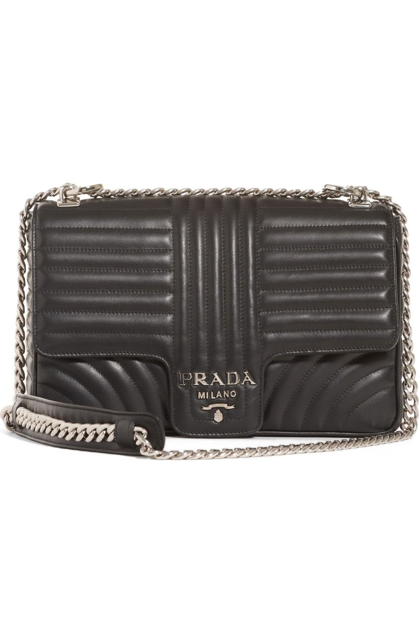 8a7e8a8a6ea8 Prada Large Quilted Leather Shoulder Bag | Nordstrom | Things I NEED ...