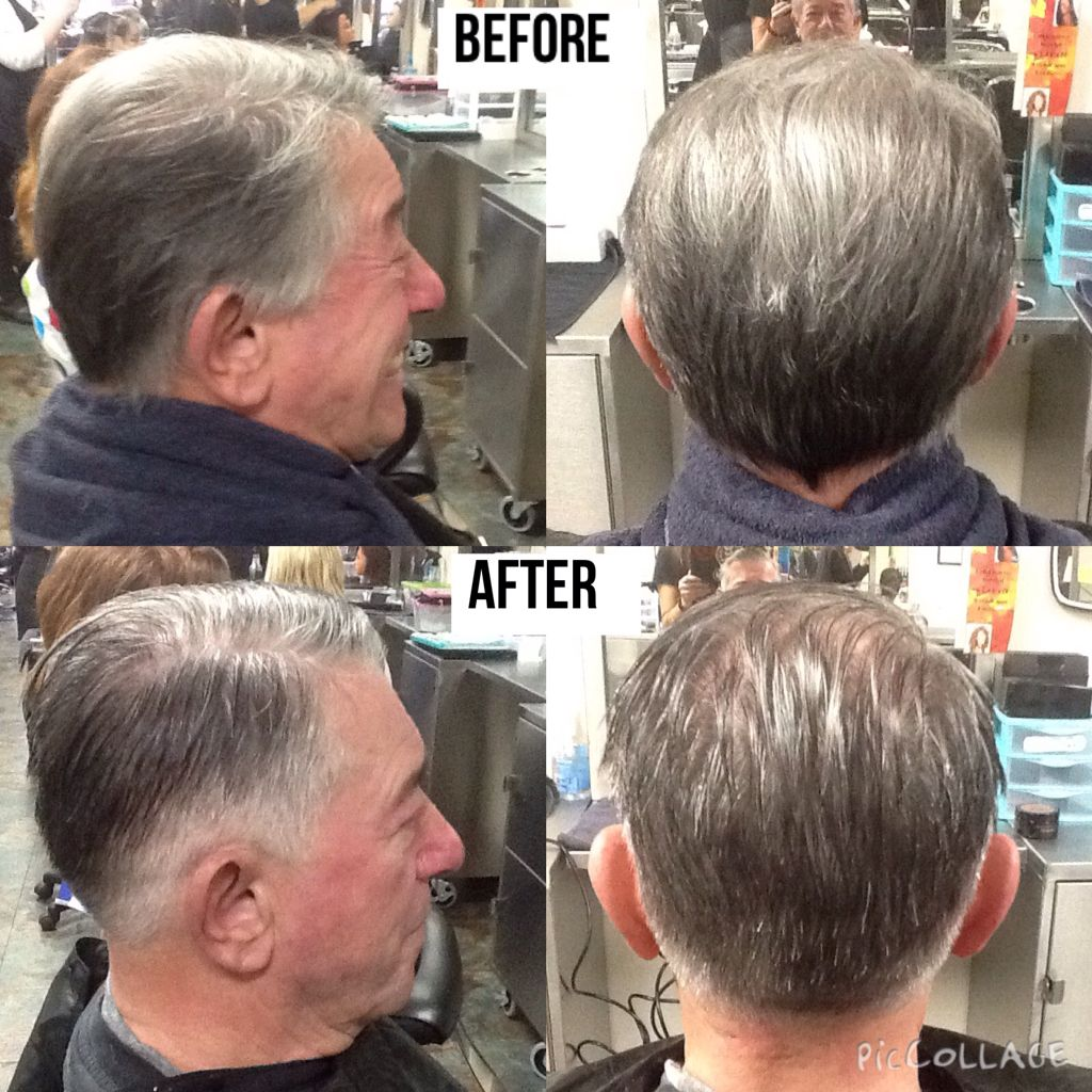 An Old Fashioned Haircut With A Fade Starting At The Nape Used
