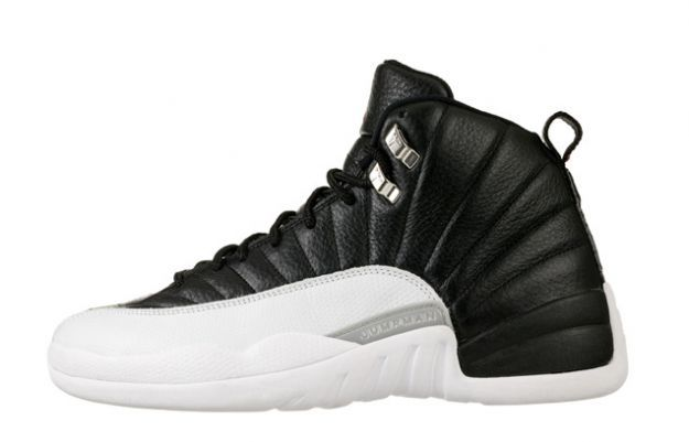 Air Jordan 12 (XII) Retro - Playoffs (Black / White - Varsity Red