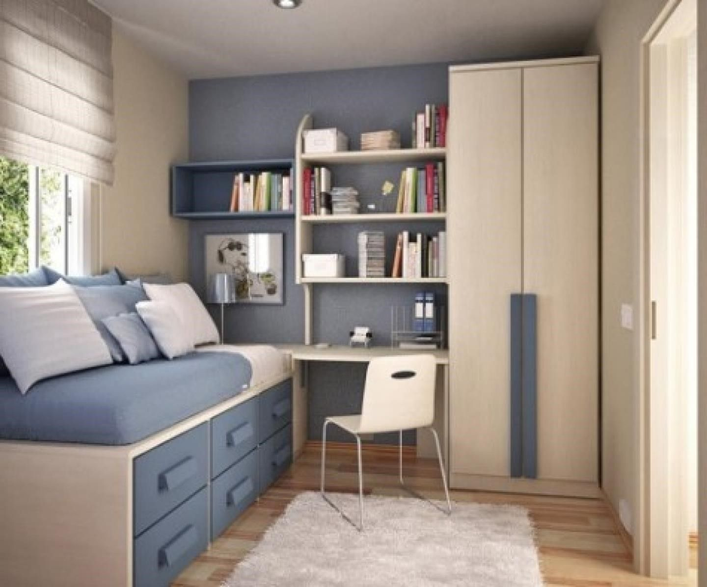 Room  Bedroom : Small Bedroom Ideas With Full Bed ...