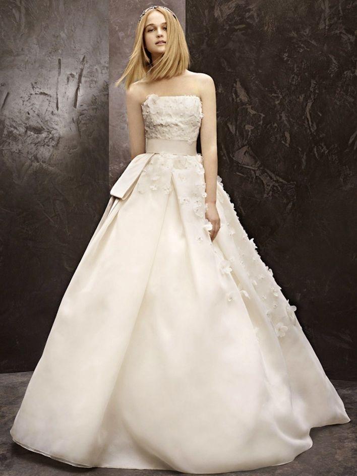 fall 2012 wedding dress White by Vera Wang bridal gowns vw351124 ...