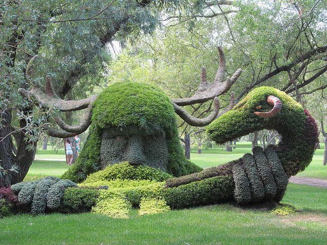 Cernunnos Garden Art Montreal Botanical Garden Beautiful Gardens