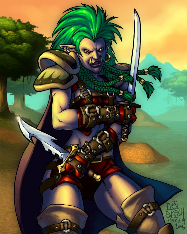 World Of Warcraft Troll Rogue By ~breakbot On DeviantART