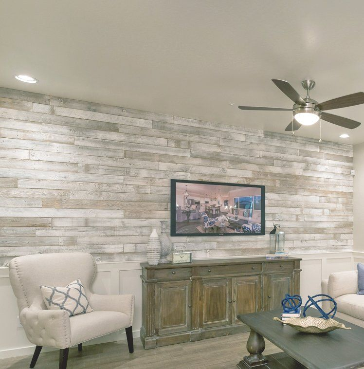 5 Solid Reclaimed Wood Wall Paneling In Sundance Whitewash Wood Panel Walls Diy Wood Wall Home