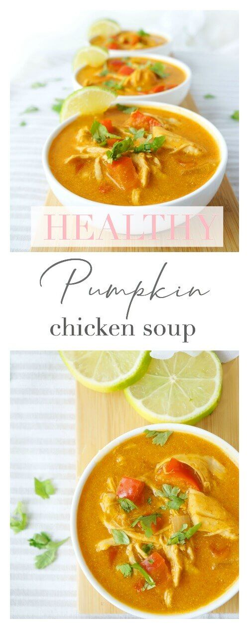 Curried Pumpkin Chicken Soup images
