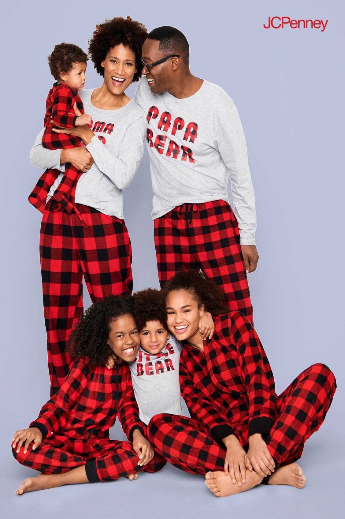96d4659a78 Bring on Christmastime cozy in matching pajama sets from JCPenney. Get  everyone in the Christmas spirit in snuggly sleepwear made for festive  fireside fun.