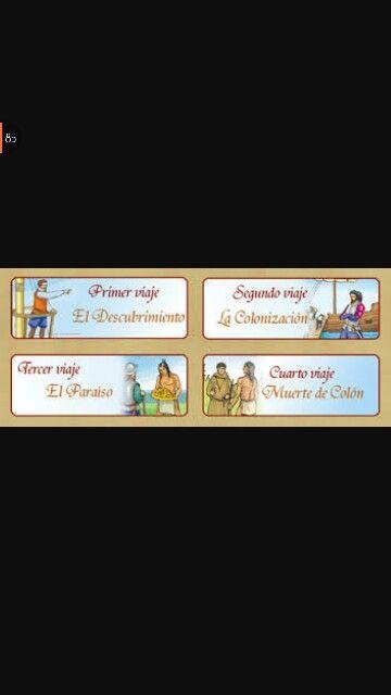 Estas imagenes demuestran y hablan de los viajes que Cristobal hizo durante su vida asta que fallesio.