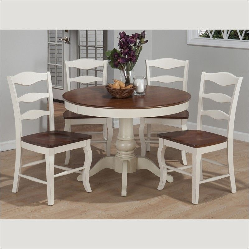 Alcott Hill Nook 3 Piece Dining Set & Reviews  Wayfair  Oakbrook Enchanting Two Toned Dining Room Sets Decorating Inspiration