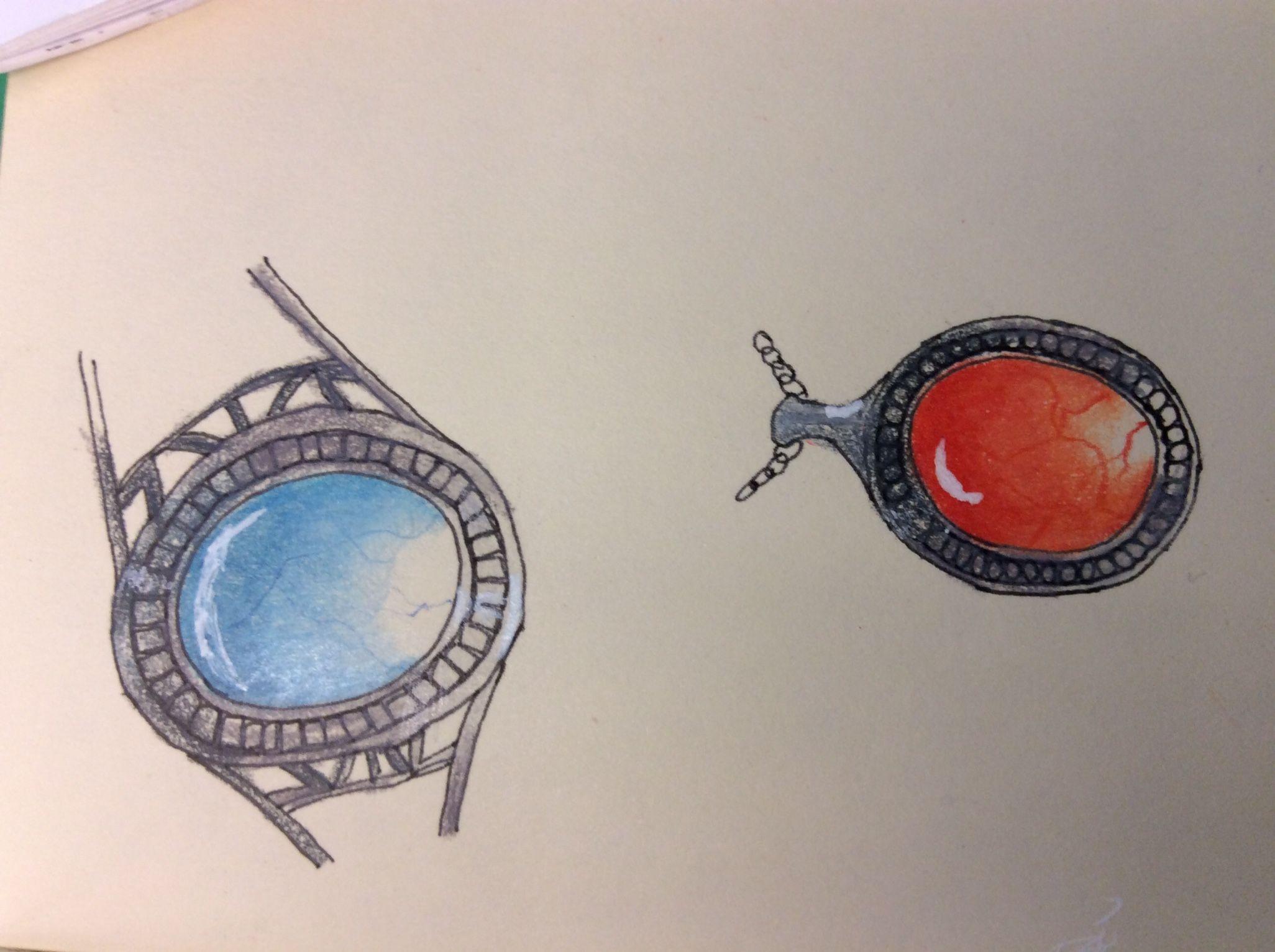 Zentangle gems by Judy of Zen Drawing Club
