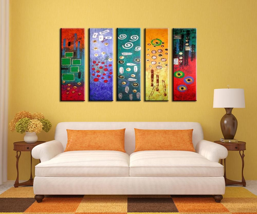 Wall art combined WholeAdornment picture Handmade works of More than ...