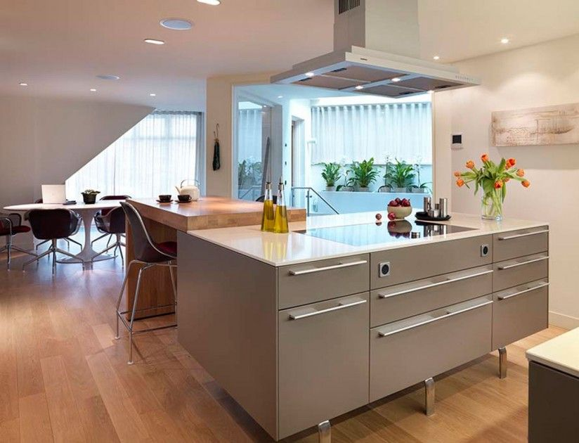 How To Design Kitchen Island Fascinating Modern Open Plan Kitchen And Dinergreat Island With Lots Of Decorating Inspiration