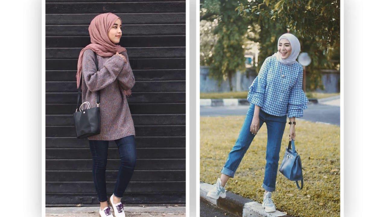تنسيق ملابس محجبات شتوية 2019 موضه شتاء اجمل تنسيقات ملابس شتاء 2019 للمحجبات Https Youtu Be L3riw2ejkt8 Hijab Fashion Fashion Hijab