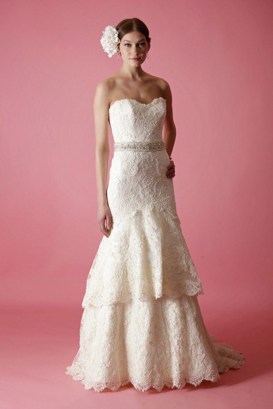 Asombrosos vestidos de novia | Coleccion Badgley Mischka 2014 ...