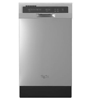 18 in. built in Whirlpool dishwasher